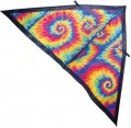 6.5' Delta Kite, Rainbow Tie Dye