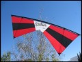 Rev EXP Quad Line Kite RTF, Red/Black