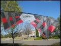 Revolution B-Series (Standard) Quad Line Kite, Red/Black