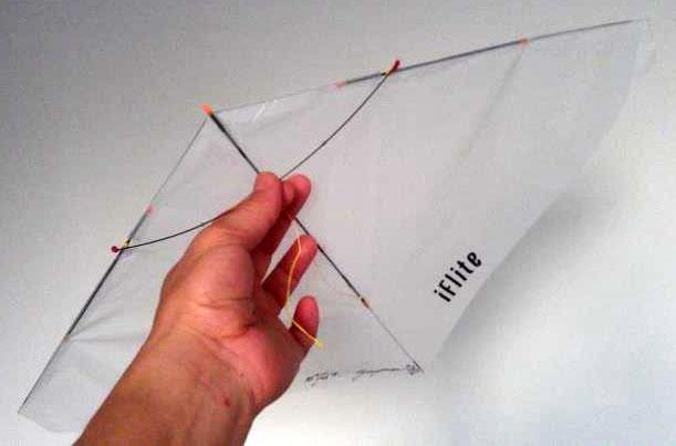 Iflite indoor kite highline kites of berkeley for Indoor kite design